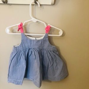 Baby GAP tank with bows